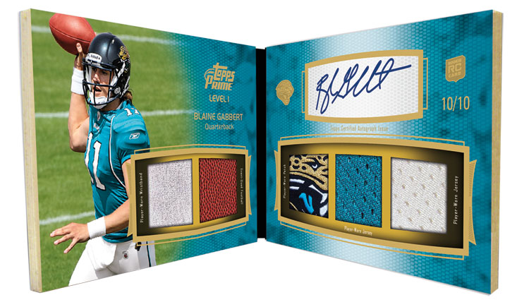 First look: 2011 Topps Prime Football