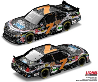 Danica Patrick's car, diecast will honor 9-11 victims