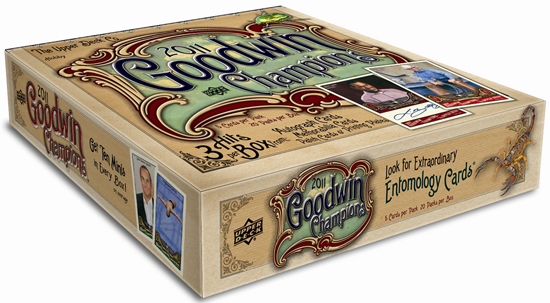Upcoming Goodwin Champions baseball set includes paintings, presidents … and even more bugs