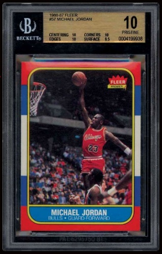 Perfect Michael Jordan Rookie Card sells for $100,000