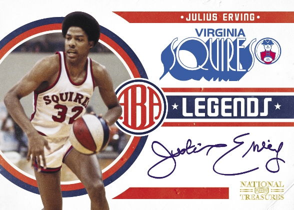 Hall-of-Famers get noticed in Panini's National Treasures Basketball